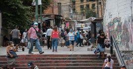 El Gobierno venezolano ha instado a la población a mantener el distanciamiento para evitar la propagación del virus.
