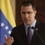 Canciller de Venezuela exige fin de medidas coercitivas de EE.UU.