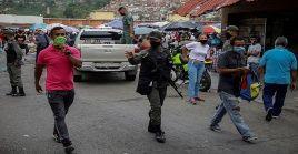 La capital venezolana es la región que reporta más contagios de coronavirus.