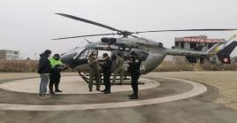 Las labores de búsquedas han continuado. La Marina de Guerra y la Policía Nacional fortalecieron las exploraciones por mar, aire y tierra.