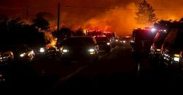 La policía de Vacaville instó a cooperar con las acciones de evacuación.