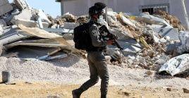 El adolescente fue identificado por una autoridad de la aldea Deir Abu Mashal como Muhamad Hamdan Matar.
