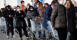 Respecto a las regiones, Lombardíaque padeció las peores cifras de la pandemia, reportó 239 nuevos contagios.