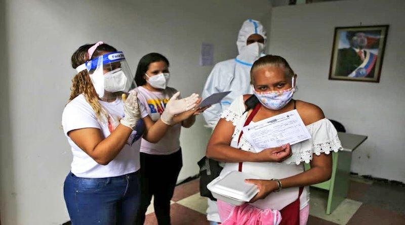 El país ha aplicado 1.805.766 pruebas para la detección de la Covid-19, lo que representa 60.192 test por millón de habitantes.