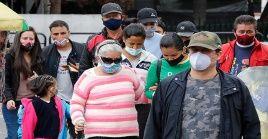 Bogotá es la zona con más casos en total, al contabilizar 225.947 contagios desde el inicio de la pandemia en el país sudamericano.