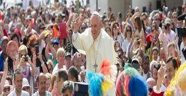 El papa Francisco repudió el hecho negligente por parte de algunas personas tras la situación sanitaria.