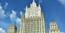 La Cancillería rusa responsabilizó al Gobierno federal de Alemania, la Otan y la Unión Europea de las consecuencias de su actuación en este caso.