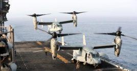 En la imagen de archivo se observan aeronaves de EE.UU. en el Golfo Pérsico.