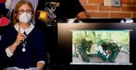 La familia del exvicepresidente secuestrado leyó el viernes, en conferencia de prensa en la ciudad de Concepción, las exigencias del EPP.
