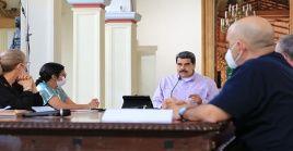 """""""Venezuela continuará con las clases a distancia y on-line como medida de prevención al contagio de la Covid-19"""", anunció el mandatario Maduro."""