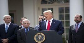 Trump, reaccionó a una información publicada este sábado en la que presuntamente el Gobierno iraní plantea asesinar a la embajadora de EE.UU. en Sudáfrica.
