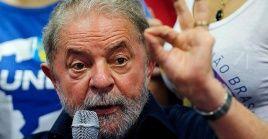 Luiz Inácio Lula da Silva resultó condenado por supuestos actos de corrupción, estuvo encarcelado 580 días.