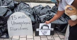 Los efectos de la pandemia en la economía han generado acciones de protesta en todo el mundo.