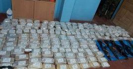 La Fiscalía explicó que durante el operativo los presuntos narcotraficantes lograron darse a la fuga por la selva.