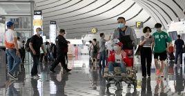 En el Aeropuerto Internacional Daxing de Beijing se operan actualmente 187 rutas aéreas nacionales, cinco de traslado de cargas y se conectan 129 destinos en toda China.