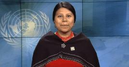 La también funcionaria de la ONU afirmó que la participación de las mujeres indígenas en la política sigue siendo difícil pero no imposible.