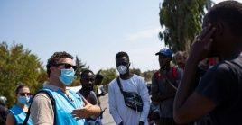"""El representante de ACNUR en Grecia, Philippe Leclerc, señaló que es crucial que la respuesta gubernamental sea """"integral""""."""