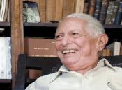 Eldestacado poeta, narrador, ensayista y crítico, Cintio Vitier, considerado como uno de los más relevantes estudiosos martianos, estaría cumpliendo 99 años.