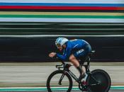El italiano Filippo Ganna, quien ya fue campeón mundial en pista en cuatro oportunidades, ganó en esta ocasiónsu primer Mundial contra el crono en ruta.