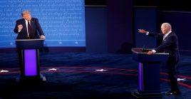 Los dos debates que restan entre Donald Trump y Joe Biden están previstos para el 15 y el 22 de octubre.