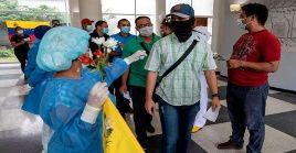 El Gobierno venezolano precisó que 67.216 pacientes, es decir el 87 por ciento, se han recuperado del coronavirus.