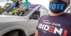 El 51 por ciento de los estadounidenses que ejerzan el voto darían su apoyo a Biden.