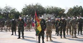 Durante un acto para homenajear a los militares que asesinaron al líder revolucionario, fueron expresados mensajes violentos contra países de la región.