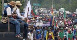 Al llegar a la ciudad de Cali (capital del departamento del Valle del Cauca), los pueblos originarios se concentrarán en el Coliseo del Pueblo.