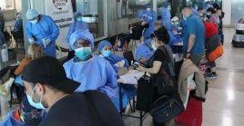 Los 206 connacionales que retornaron desde Chile están al cuidado del sistema de salud venezolano.