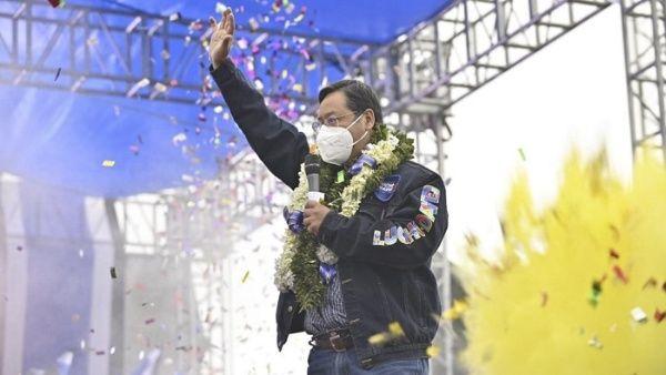 El candidato por el MAS, Luís Arce, es el favorito para ganar las elecciones de este domingo, con 42,2 porciento de aprobación.