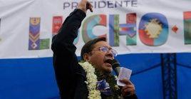 De acuerdo al conteo rápido del canal de televisión Unitel, Luis Arce, ganó la presidencia con el 52.4 por ciento de los sufragios.