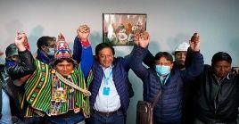 Luis Arce agradeció al pueblo boliviano y a la comunidad internacional, por su apoyo al proceso electoral de este domingo.