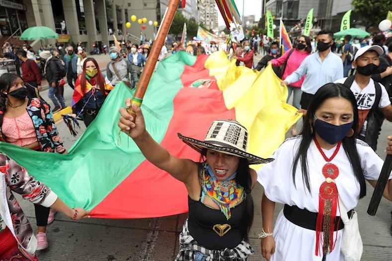Los sectores que participarán en esta protesta son las organizaciones comunales, estudiantiles, sindicales, de mujeres y comerciantes, entre otros.