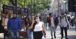 De acuerdo a la Secretaría de Salud la cifra de contagios en el país se ubicó en 867.559 casos desde el arranque de la pandemia.
