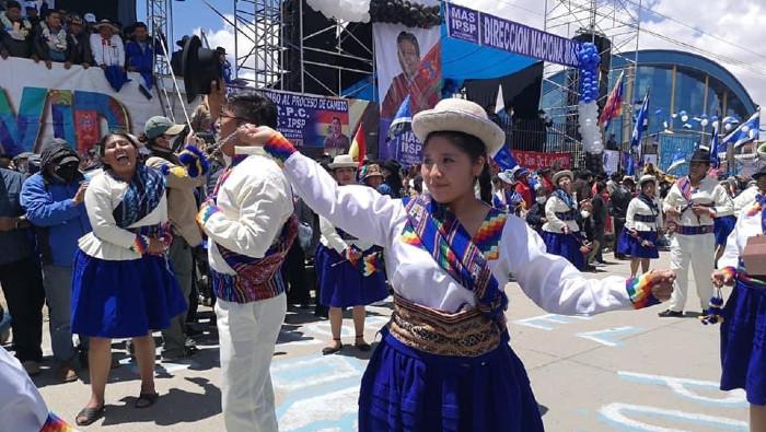 El MAS celebra victoria electoral con multitudinario acto en la ciudad  boliviana de El Alto | Noticias | teleSUR
