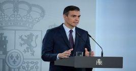 Pedro Sánchez, anunció este domingo que el estado de alarma para toda España que entrará en vigor esta tarde.