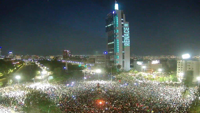 Líderes felicitan a pueblo chileno por resultado en plebiscito