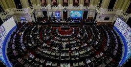 El Frente de Todos ocupa 117 escaños de los 257 con que cuenta la Cámara de Diputados.