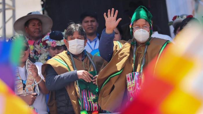Arce ratifica que Bolivia restablecerá relaciones con Venezuela