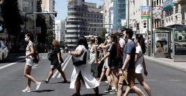 Los bares y restaurantes de Madrid permanecen abiertos.