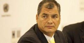 El exmandatarioaseveró que en Ecuador existe un Estado de terror que ha hecho de todo para impedir su participación y la de sus compañeros de partido.