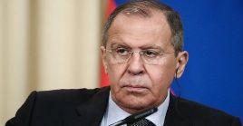 El canciller ruso Sergey Lavrov también intercambió criterios con su par egipcio acerca de la búsqueda de una solución al conflicto en Libia.
