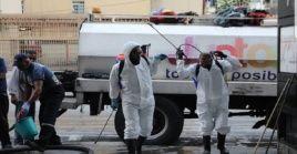 Las autoridades de Venezuela han llevado a cabo 3.625.000 jornadas de desinfección a nivel nacional.