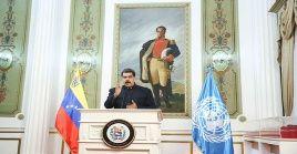 A través de un comunicado de la cancillería venezolana el Jefe de Estado se unió al dolor de las víctimas y sus familiares tras el sismo del viernes.