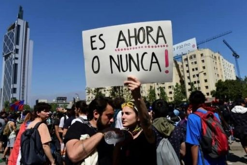Jóvenes chilenos: ¡No suelten el timón!