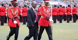 John Magufuli asumió por primera vez la presidencia de Tanzania en 2015.