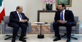 A inicios de esta semana, el presidente libanés, Michel Aoun, y el primer ministro designado, Saad Hariri, habían acordado limitar el número de carteras ministeriales.