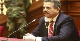 Manuel Merino de Lama ha sido legislador durante tres periodos y ocupa la Presidencia del Congreso desde este año.