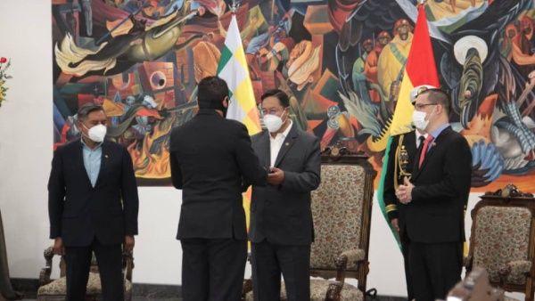 Bolivia y Venezuela trabajarán mancomunadamente en el impulso al multilateralismo en la región.