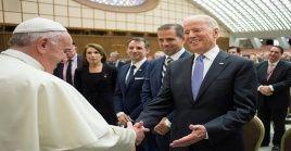 """Biden expresó su deseo de trabajar """"juntos sobre la base de una creencia compartida en la dignidad"""